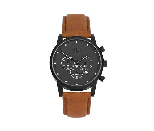 Porthos I - Brown Calf Leather