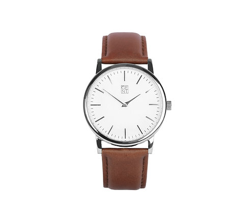 Athos I - Brown Genuine Leather