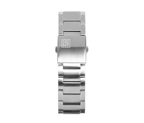 Silver Stainless Steel Strap