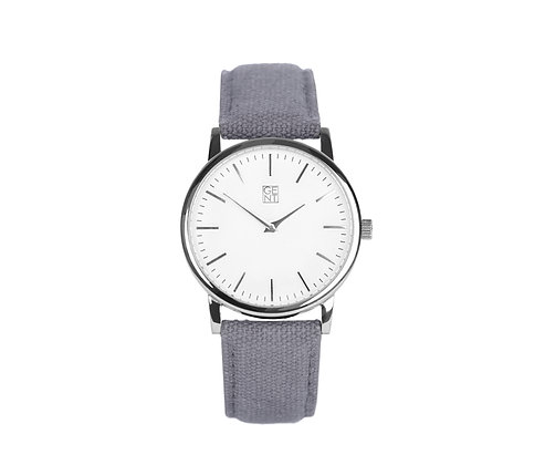 Athos I - Space Grey Canvas