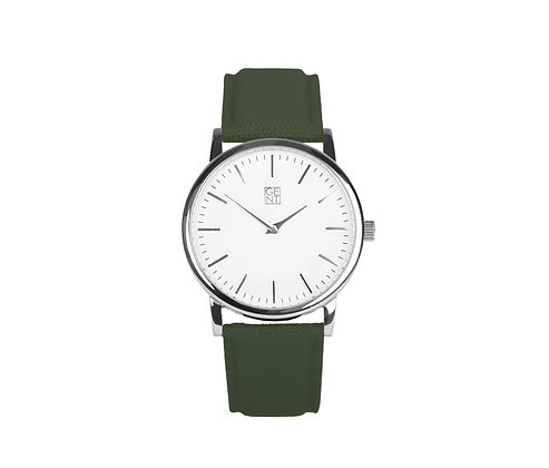 Athos I - Olive Green Canvas