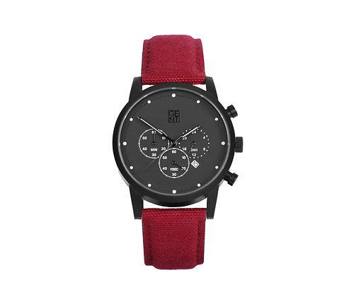 Porthos I - Burgundy Canvas
