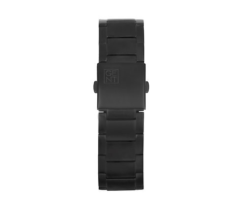 Matte Black Steel Strap