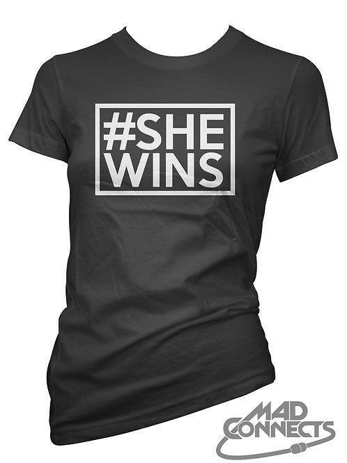 #SheWins T-Shirt