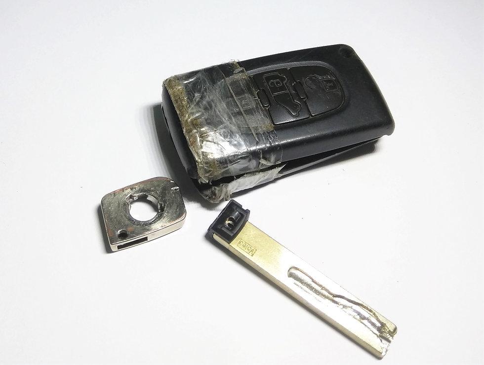 Peugeot kulcsház, Citroen kulcsház, bicskakulcs ház csere
