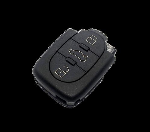 Autókulcs AUDI távirányító 4DO 837 231 N UT.