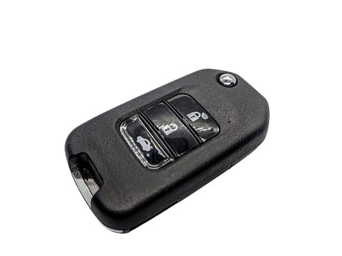 Honda Civic, Jazz, Accord, CR-V, XR-V, CR-Z három gombos bicskakulcs kulcsház