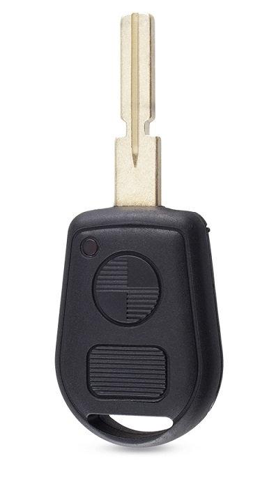 BMW kulcsház 2 gombbal HU58 kulcstollal