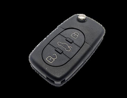 AUDI A8 távirányítós bicskakulcs HITAG2 4E0 837 220H UT.