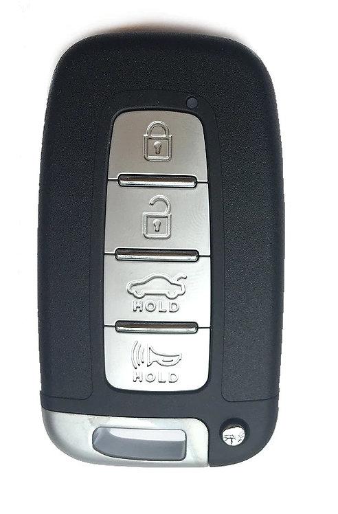 Hyundai / Kia smart kulcs ház 4 gombbal