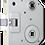 Thumbnail: Euro-Elzett 4399 WC Lővérzár