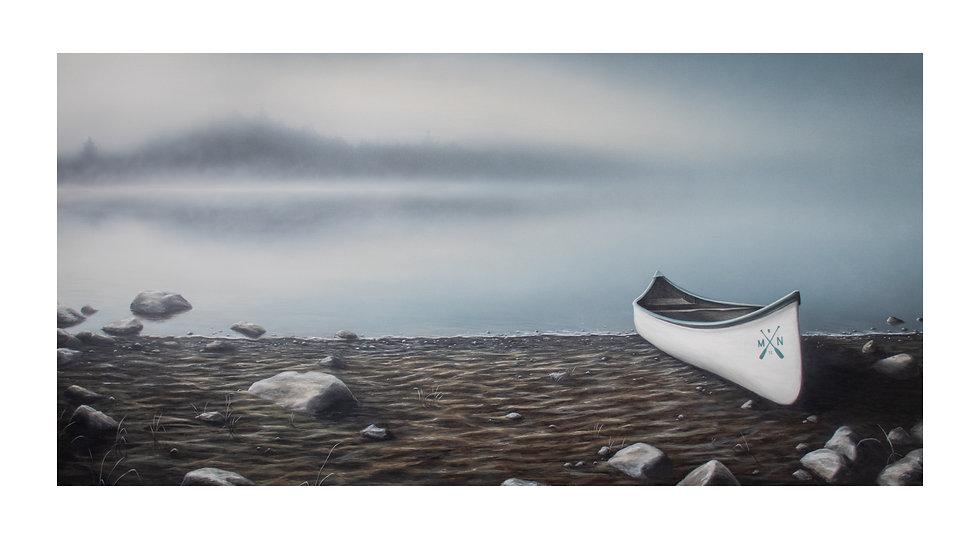 "Sota Canoe Print 40"" X 22"""