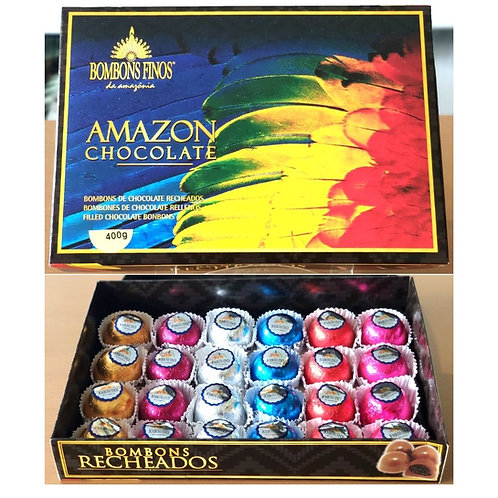 Caixa Amazon Chocolate 400g
