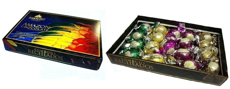 Caixa Amazon Chocolate