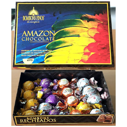 Caixa Amazon Chocolate 300g
