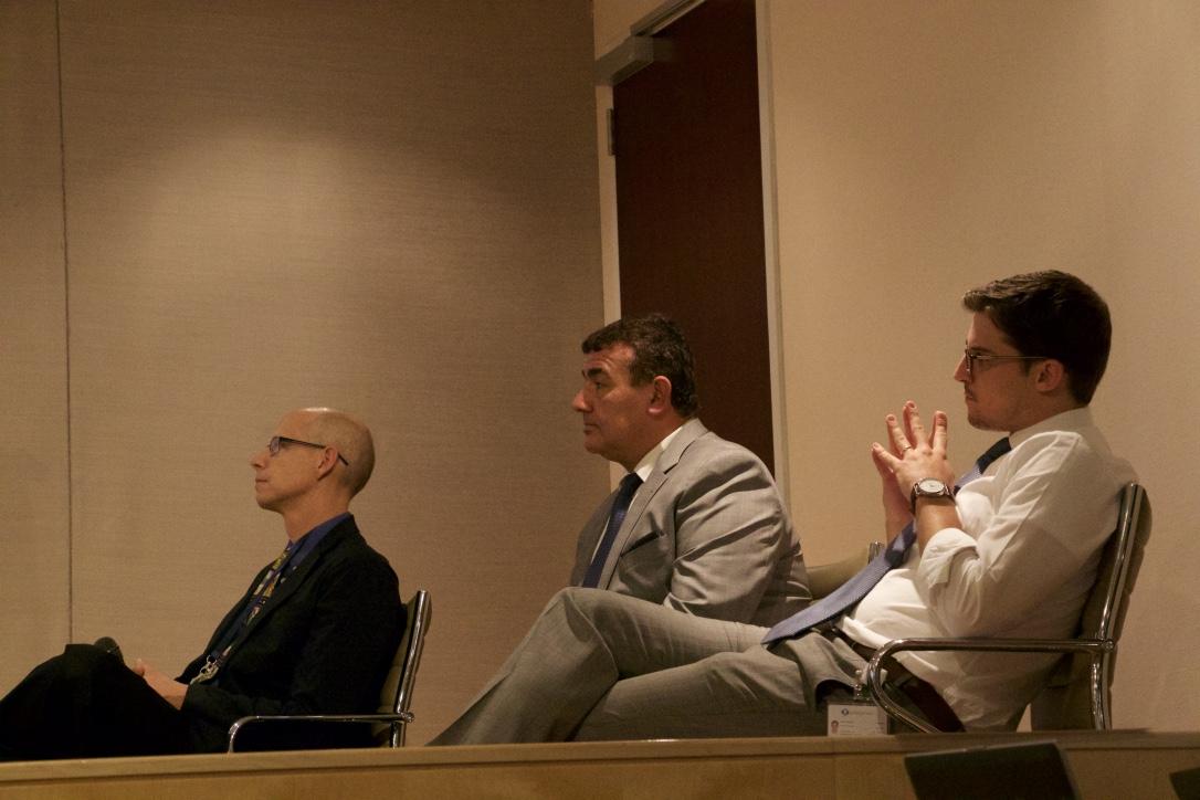 David Ytes, Dr. Dawoud, Marco Vinaccia