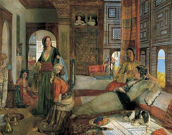The Harem by John Frederick Lewis 1876.j