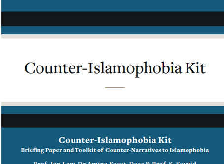 Reflections on the Counter-Islamophobia Kit