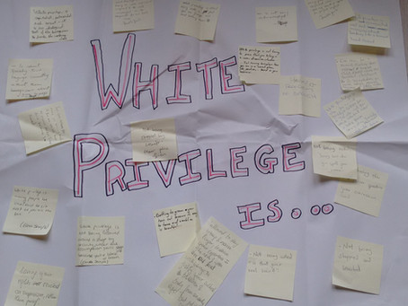 White privilege is...