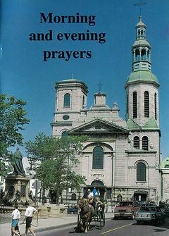 Prayer booklet Morning and Evening Praye