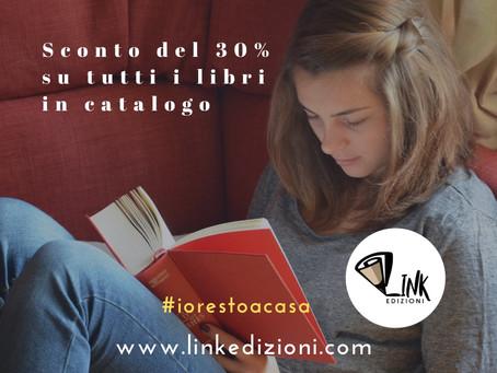 #iorestoacasa con Link Edizioni