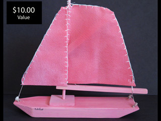 Free Wooden Sailboat