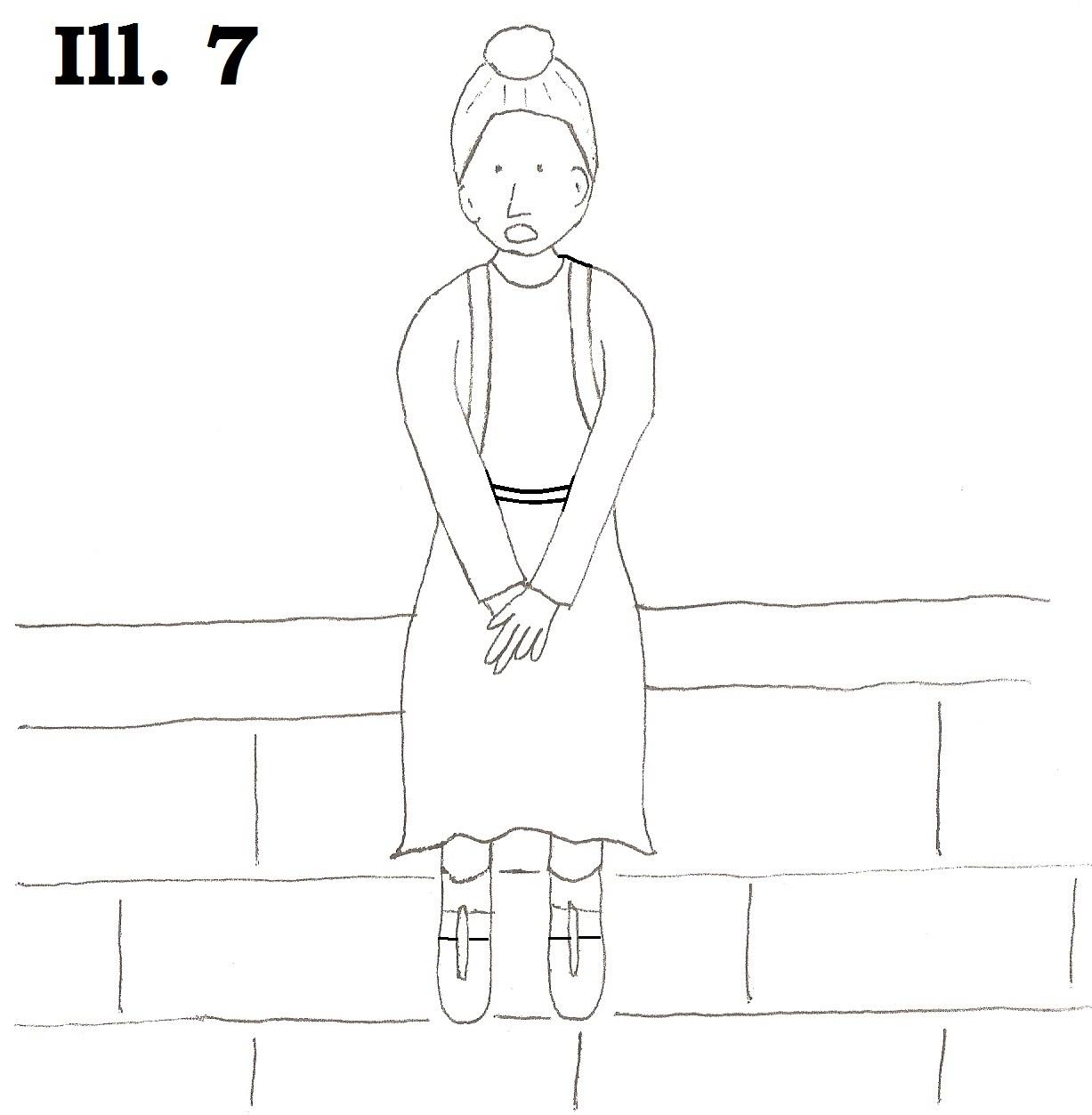#7 Sitting on Wall 3