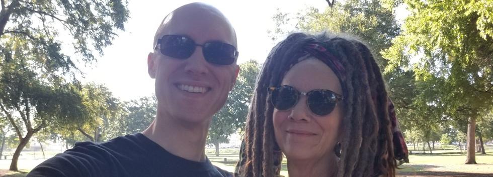 Dr. Jason and Dayton on a Wednesday Wellness Walk