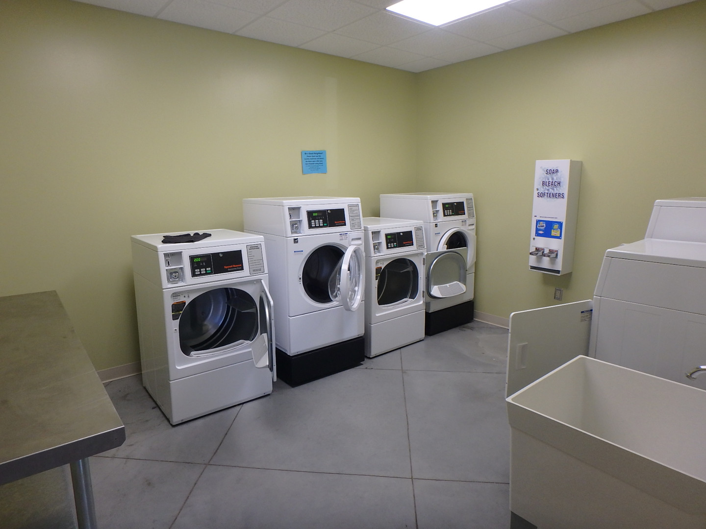 New Pay Washers-Dryers
