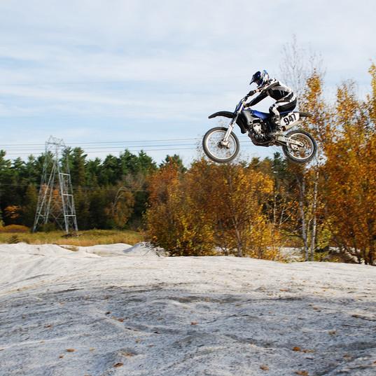 motocross taking flight