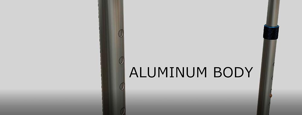 Thinner aluminum body of the ARMM