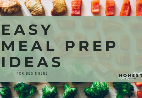 Easy Meal Prep ideas for Beginners