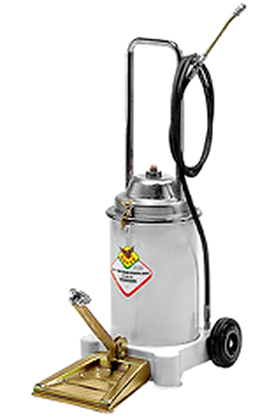 PERMEX RL68113 – RAASM WHEEL MOUNTED MANUAL GREASE DISPENSER WITH FOOT PEDAL