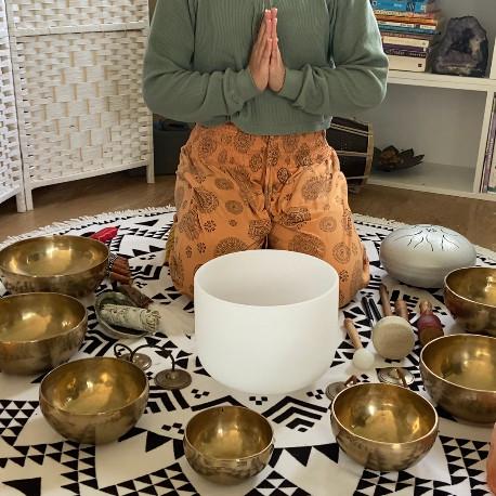Chakra Balancing Sound Meditation (Video Recording)