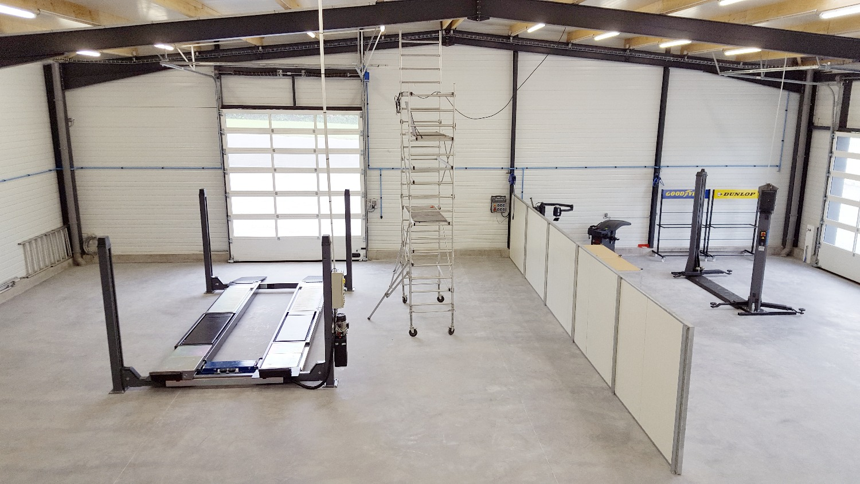 Atelier ossature métallique