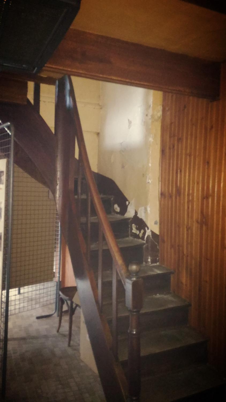 Escalier avant