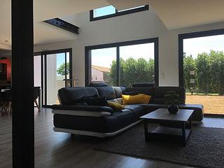 Une maison contemporaine intérieur