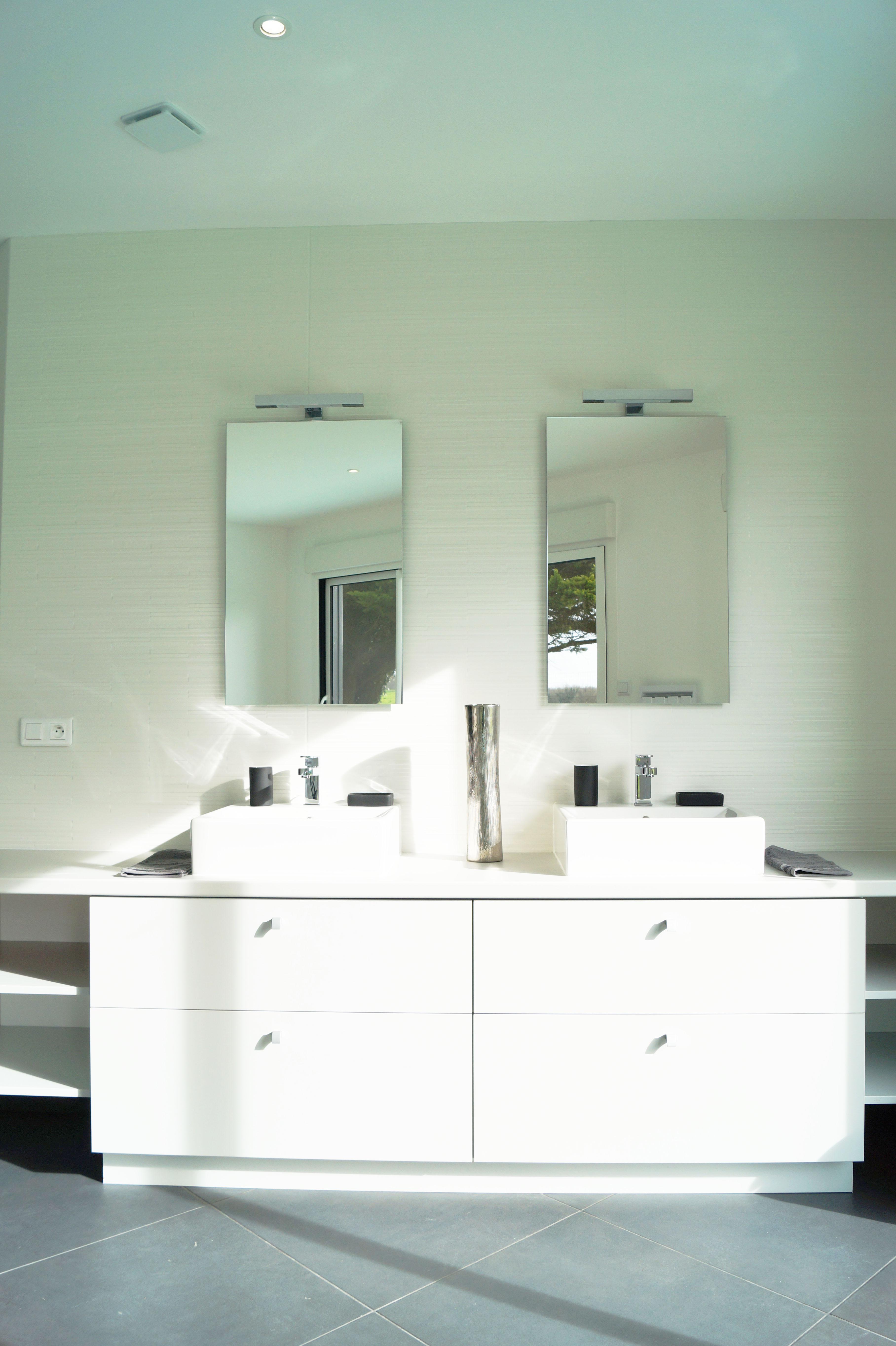 agencement sur mesure meuble vasque