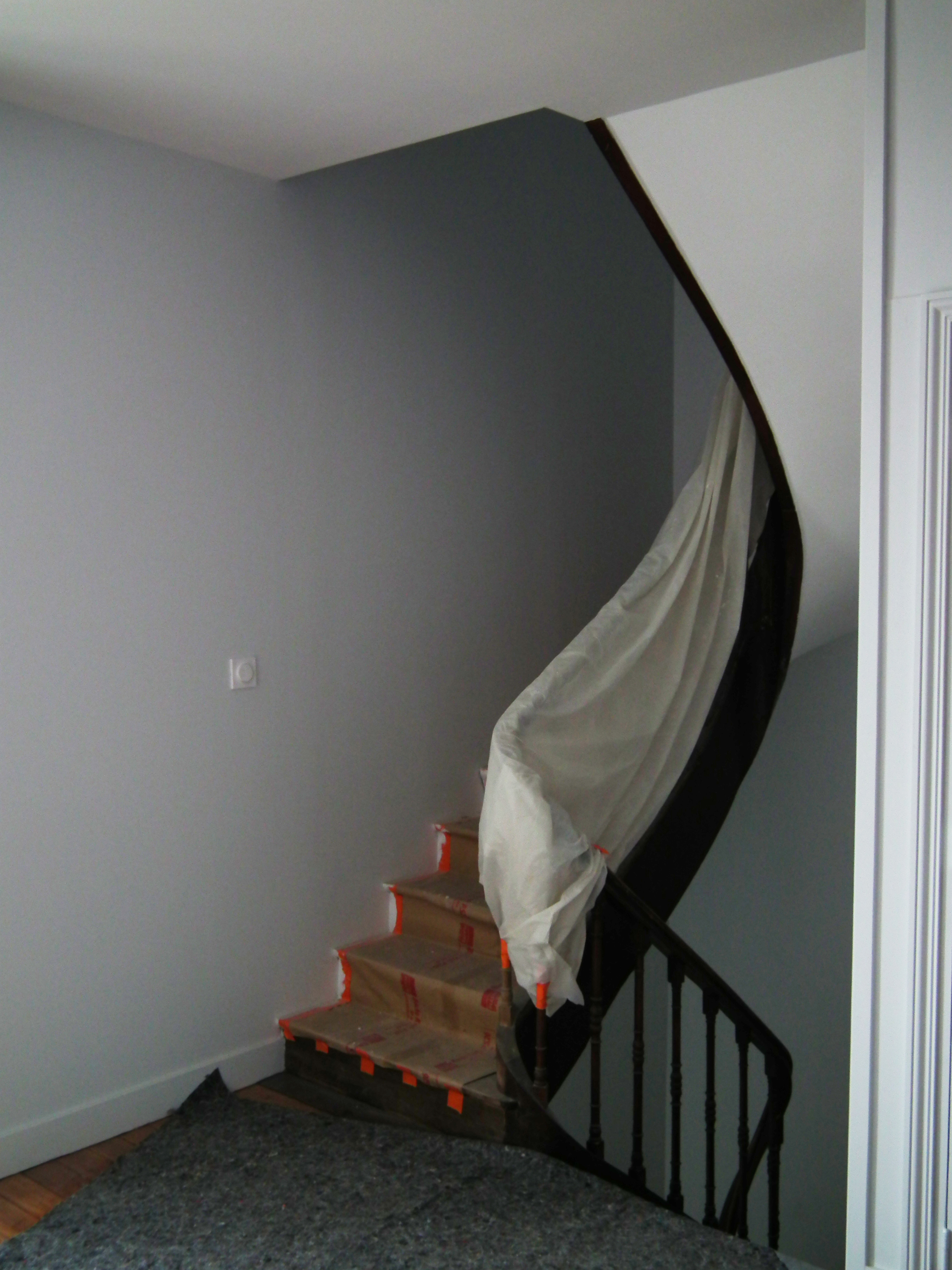 Escalier rénové