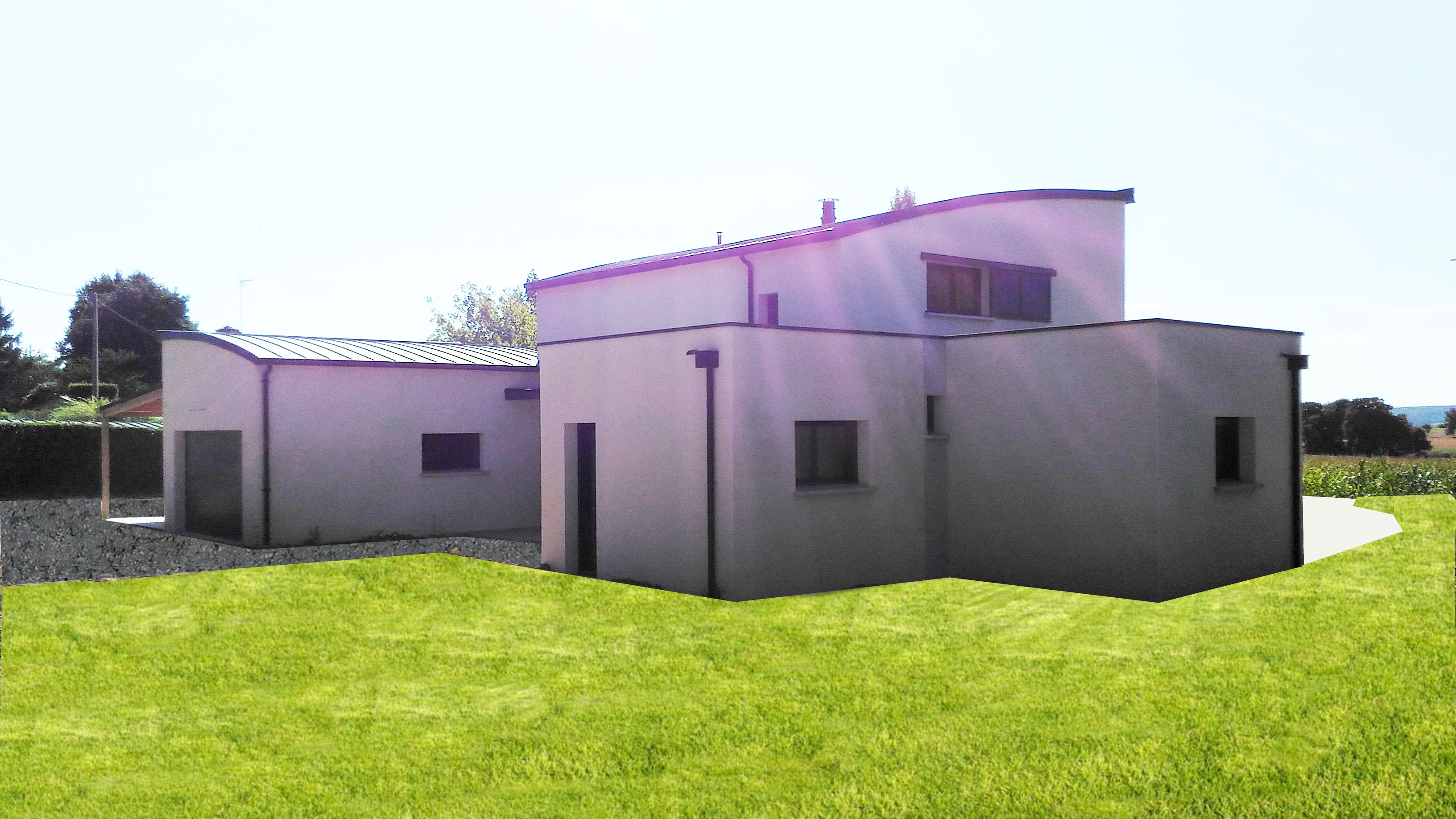 construction maison contemporaine