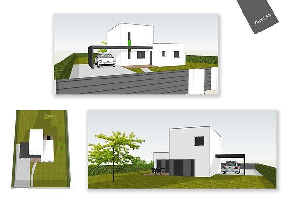 maison neuve T4