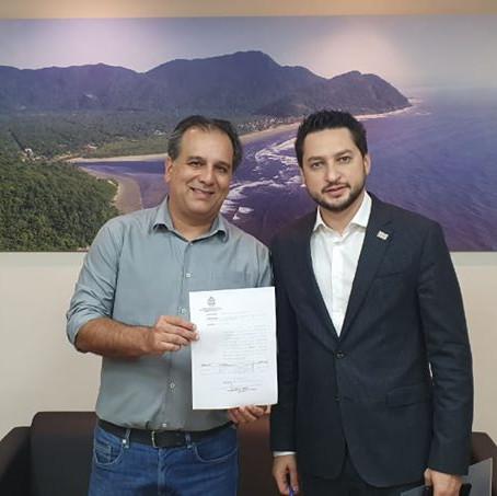 Estado e Prefeitura de Peruíbe celebram convênio de R$ 3 milhões para a estrada do Guaraú