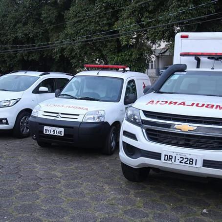 Em Peruíbe, programa Frota Nova  entrega novas ambulâncias