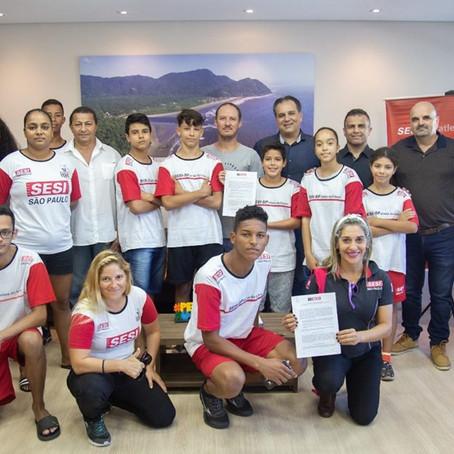 Prefeitura e SESI-SP renovam parceria para o programa Atletas do Futuro