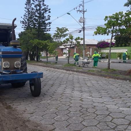 Prefeitura intensifica serviços de zeladoria  e manutenção nos bairros