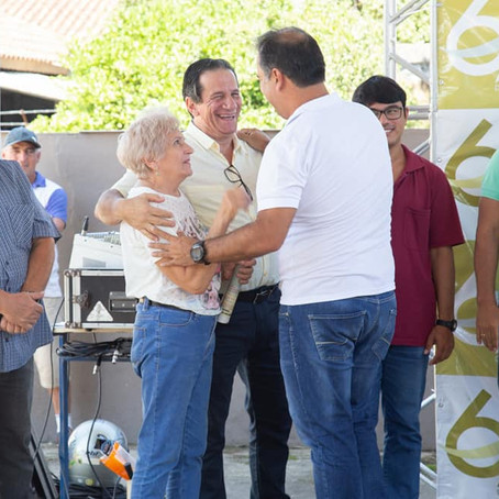 Prefeito Luiz Maurício entrega novo CREAS