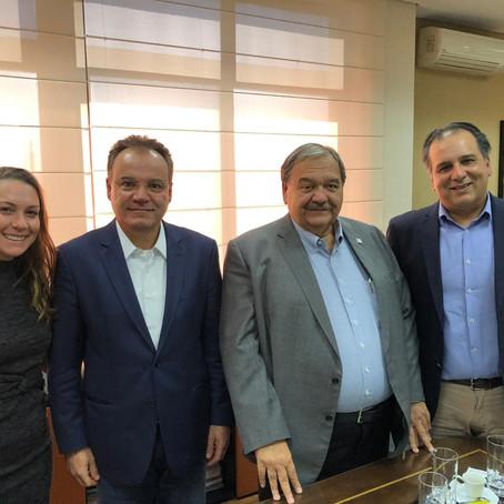Discussão sobre estadualização do AME de Peruíbe avança