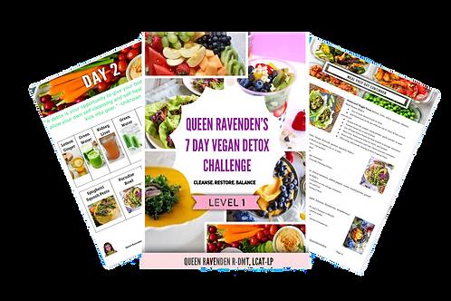 Level 1: 7-Day Vegan Detox Challenge