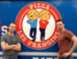 PIZZA Les frangins food truck