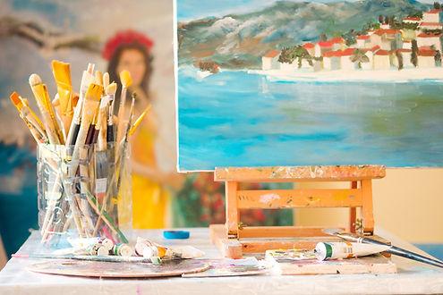 Арт-студия Начало. Мастер-классы по живописи